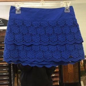 Royal blue Hollister skirt
